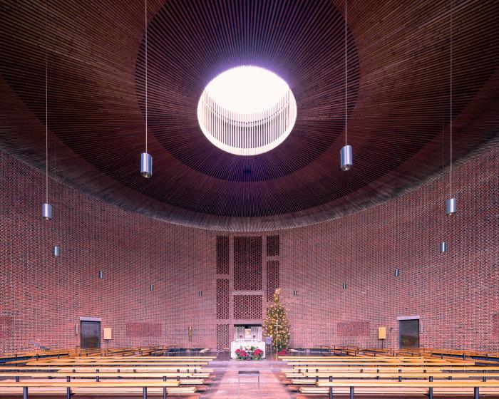 Святой Иоанн Капистранский, Мюнхен, Германия (Sep Ruf, 1960). | Фото: ©Thibaud Poirier.