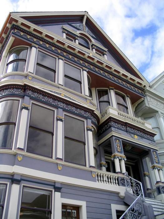 В период с 1849 по 1915 гг. в Сан-Франциско было построено более 48 тыс. разноцветных домов («Painted Ladies»). | Фото: bigpicture.ru.