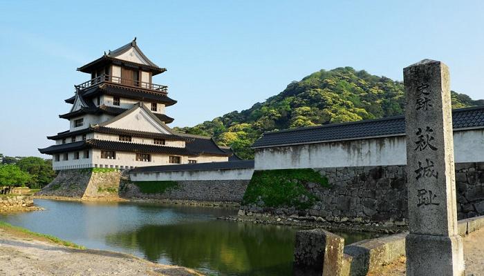 Благодаря сохранившимся снимкам замка Сидзуки, современным архитекторам удалось создать его цифровую копию (Хаги, Япония). | Фото: scientificmindset.com.