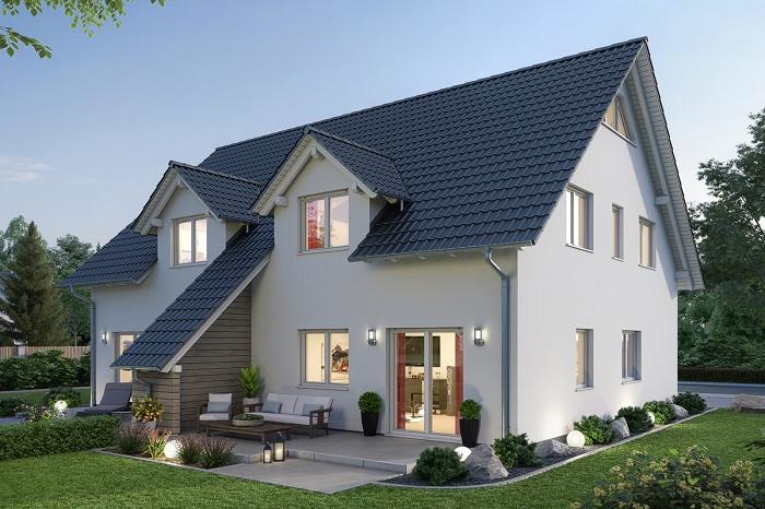 В таком доме мирно могут сосуществовать сразу три поколения. | Фото: projekt-promotion.at.