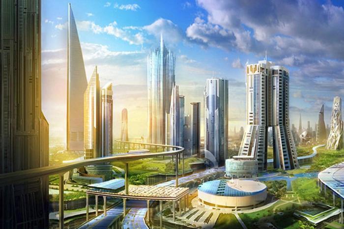 В Саудовской Аравии представили амбициозный проект ультрасовременного мегаполиса NEOM. | Фото: thetimes.co.uk.