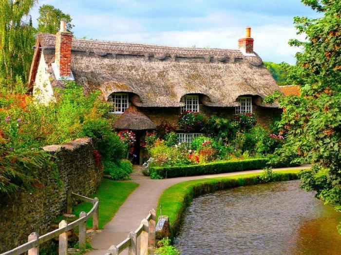 Сказочные дома — визитная карточка графства Девоншир.