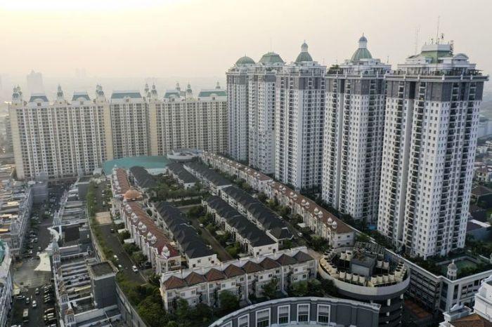В столице Индонезии построили две деревни на крышах торговых центров (коттеджный поселок The Villas, Джакарта). | Фото: finance.detik.com.