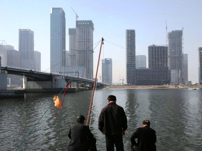 Призрачный клон Манхэттена так и не стал второй финансовой столицей мира (Тяньцзинь, Китай).  | Фото: aleksstah.livejournal.com.