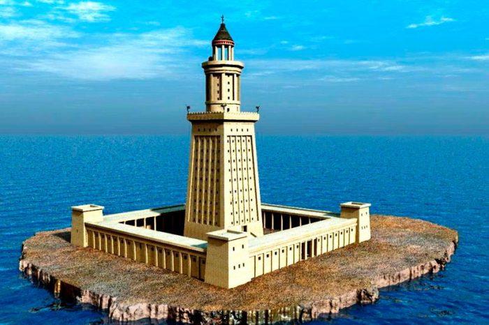 Реконструкция Александрийского маяка. | Фото: putidorogi-nn.ru.
