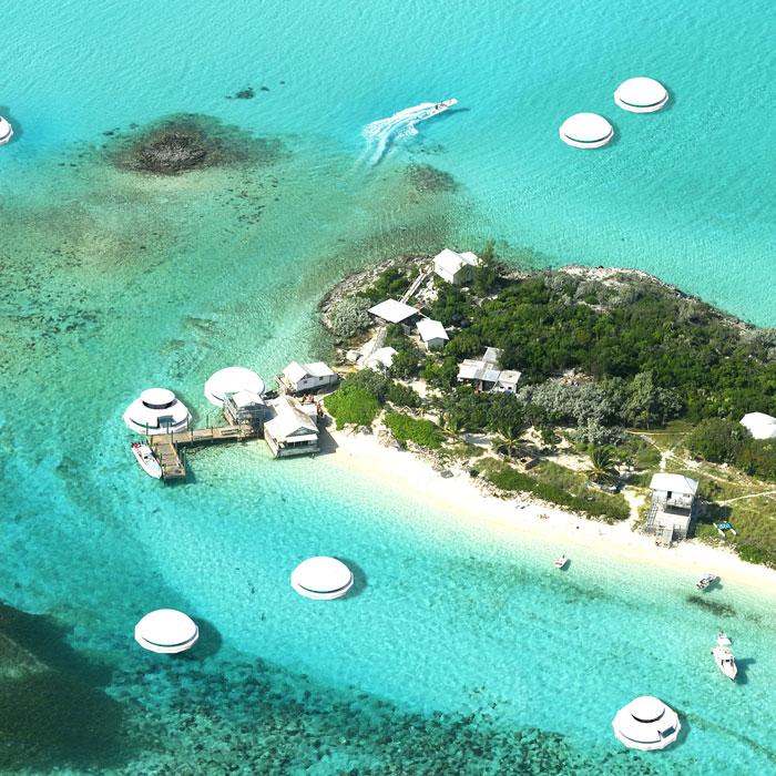 «Anthenea» является сертифицированным катером, поэтому в нем можно путешествовать или создавать плавучие гостиничные комплексы. | Фото: boredpanda.com.