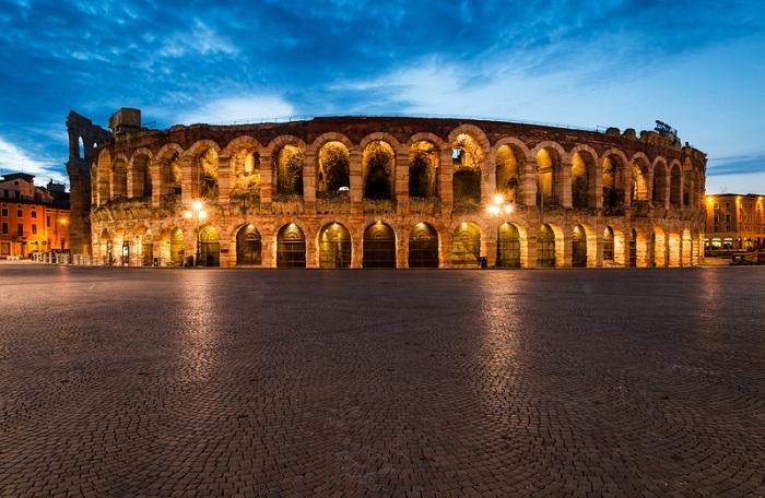 Арена ди Верона — один из самых известных амфитеатров мира.