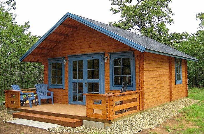 Идеальный летний домик для небольшой семьи (Коттедж Lillevilla Allwood Getaway). | Фото: labuda.blog.