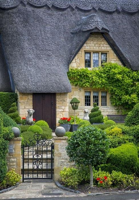 Необыкновенные дома графства Девоншир создают сказочную атмосферу.