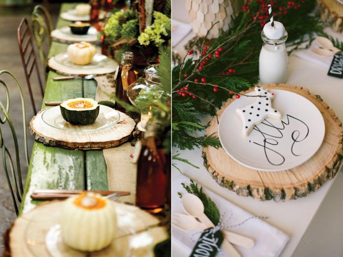 Обычные подставки под горячее станут элегантным украшением стола. | Фото: roomble.com.
