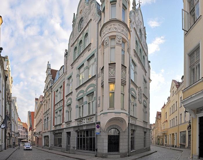 Улица Пикк в Таллине («Приключения Шерлока Холмса и доктора Ватсона: Собака Баскервилей», 1981 г.). | Фото: bigpicture.ru.