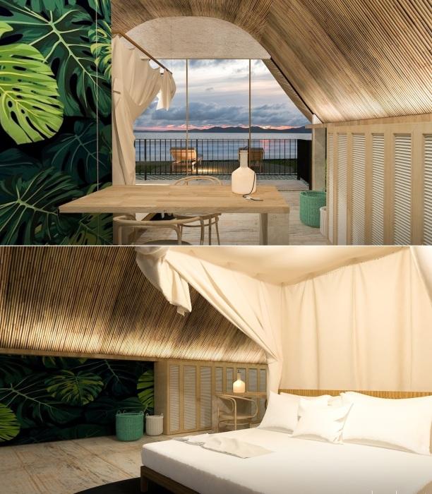 При отделке номеров планируют использовать лишь натуральные материалы, традиционно используемые на Филиппинах (концепт Bihing Tahik Resort).