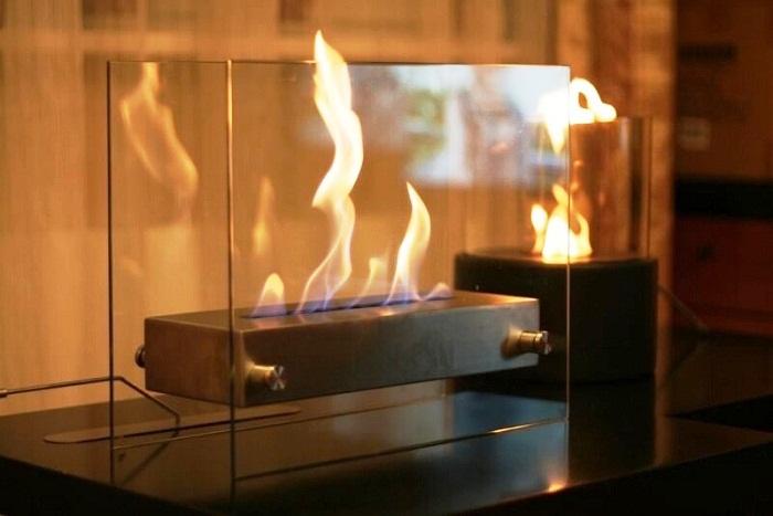 Супруги мечтают установить биокамин, который подарит ощущение домашнего уюта и тепла.