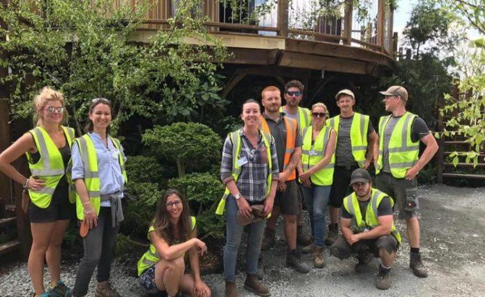 Молодые специалисты архитектурной фирмы Blue Forest полностью собрали и обустроили домик на дереве за 9 дней. | Фото: vzavtra.net.