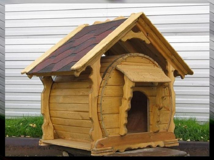 В такой будке будет комфортно не только собаке!