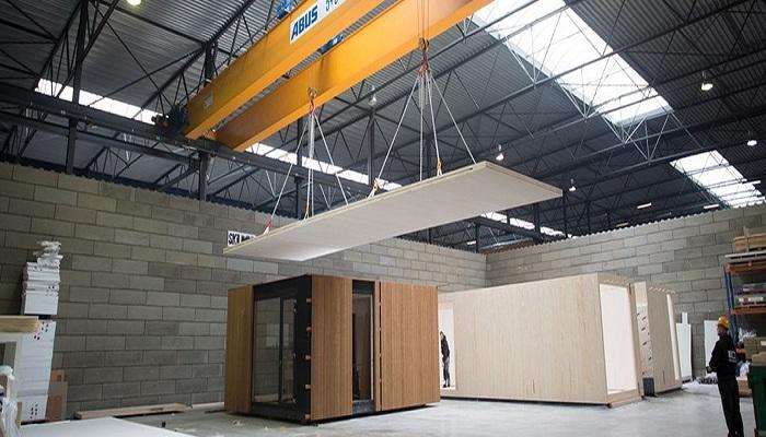Сверхсовременное жилье создают из CLT-панелей. | Фото: susanova.be.