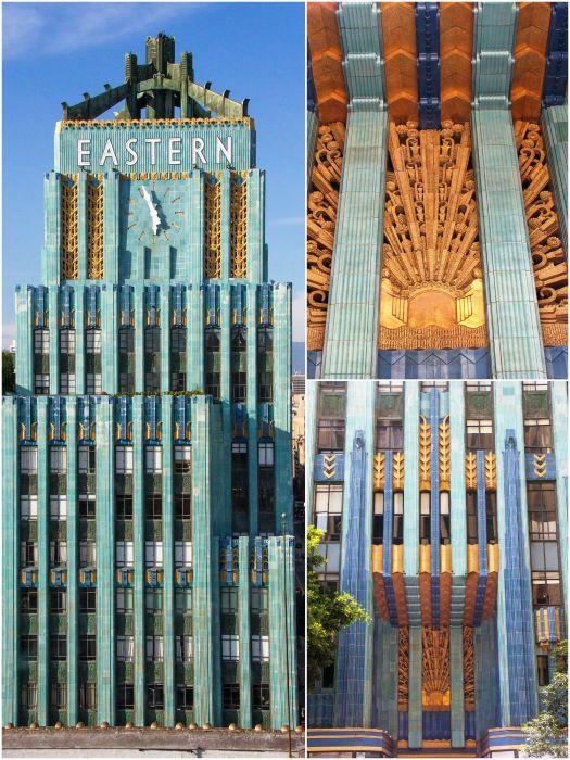Eastern Columbia Building был возведен по проекту известнейшего архитектора Клауда Билмана, который создал немало объектов в стиле ар-деко (Лос-Анджелес, США). | Фото: pinterest.ch.