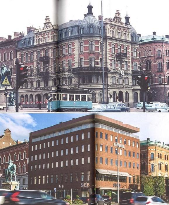 Величественный дворец на Спорторгете в Хельсингборге превратился в бетонную коробку (Швеция). | Фото: awesomeinventions.com.