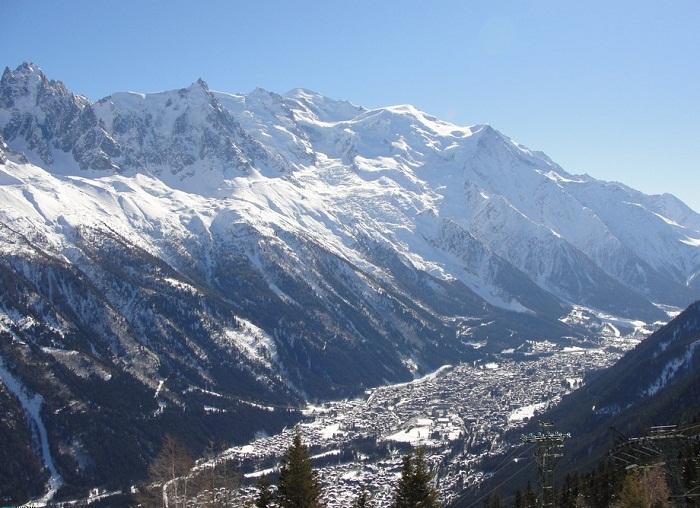 Шамони – крупнейший горнолыжный курорт Франции.
