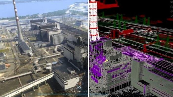 Компьютерная модель ЧАЭС. | Фото: fakty.ua.