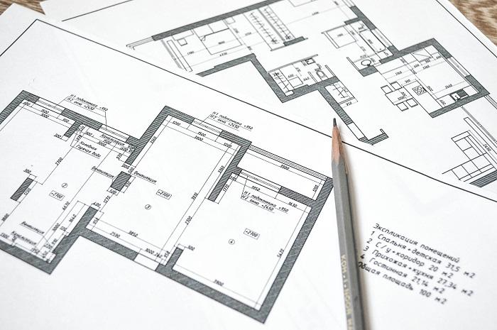 Обязательно сделайте чертеж квартиры.