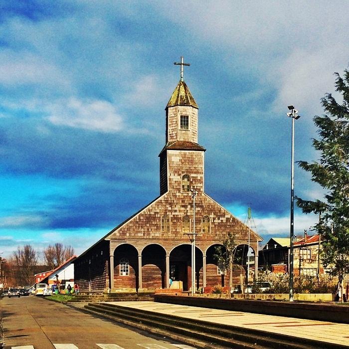 Церковь Санта-Мария-де-Лорето-де-Ачао – одна из старейших традиционных церквей Чилоэ.
