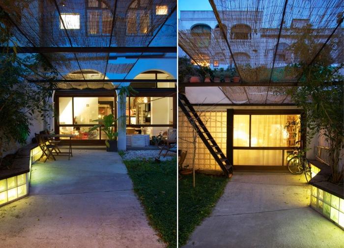 Старую химчистку в Барселоне архитектор Carles Enrich преобразовал в дом-студию (Испания). | Фото: arquitecturazonacero.blogspot.com.