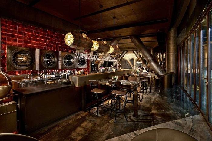 Уютные бары и рестораны помогут расслабиться или пообедать (Songjiang InterContinental).