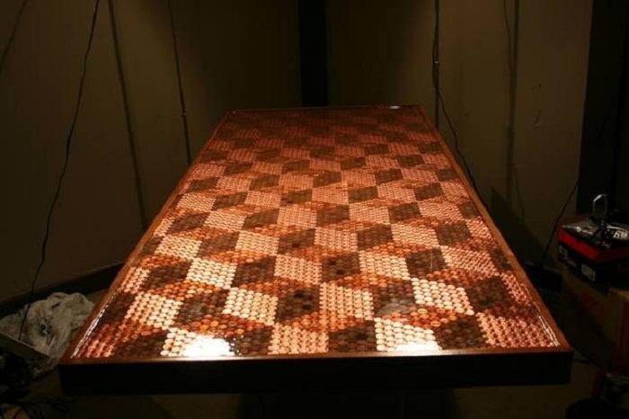 Такой стол станет настоящим шедевром.