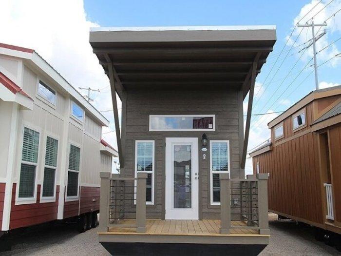 Деревянный домик на колесах, который можно собрать за пару дней (Cozumel Park). | Фото: interiordesign.id.