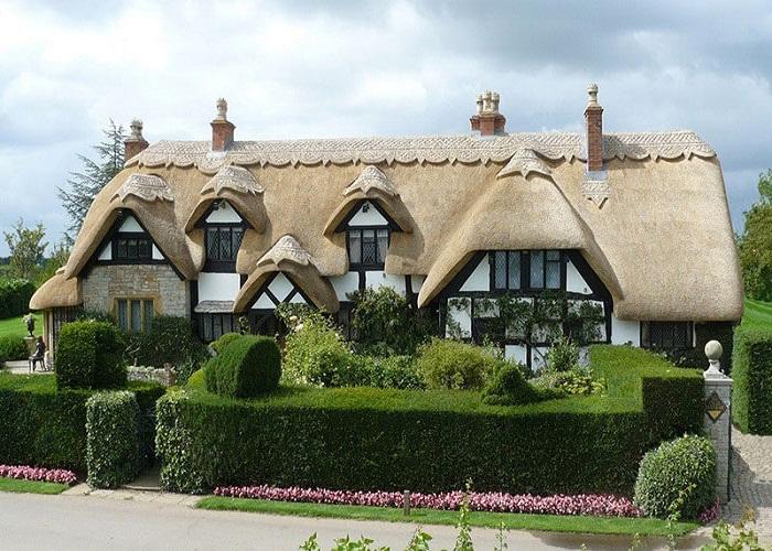 И даже гостиница оформлена в духе экологического дизайна.