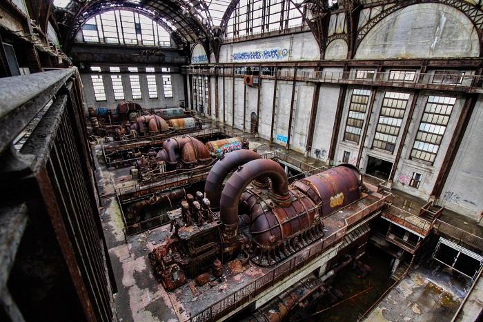 Заброшенная электростанция в Филадельфии становится интересным объектом для исследований. | Фото: interestingengineering.com.