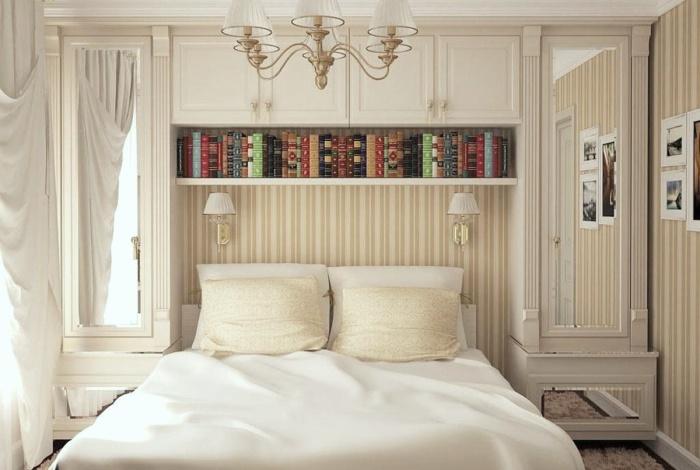 При оформлении маленьких комнат нужно по максимуму использовать все имеющееся пространство. | Фото: dekoriko.ru.
