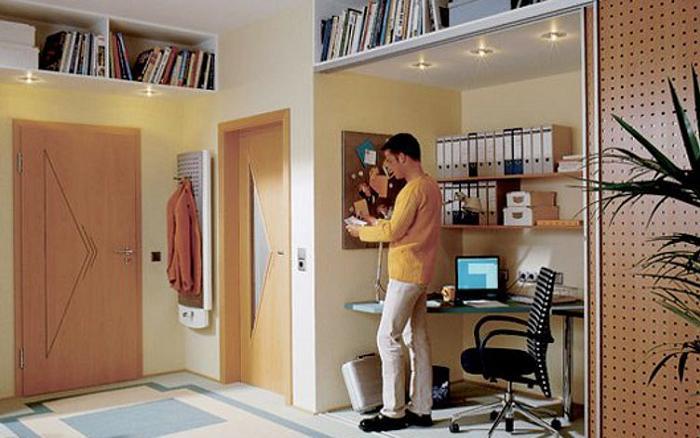 Дизайн рабочего места в квартире.