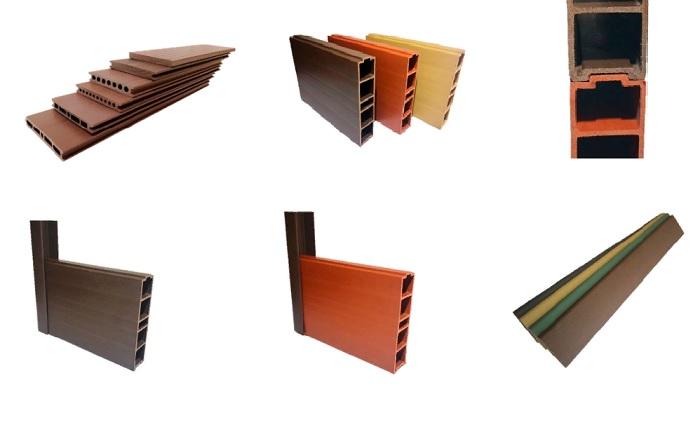 Вот такие стройматериалы получаются из шелухи кофе и переработанного пластика (WPC).