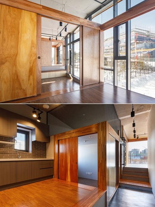 Интерьер арендуемых квартир мало чем отличается от стандартных домов, но окна от пола до потока впечатляют (Mars, Хвасон).