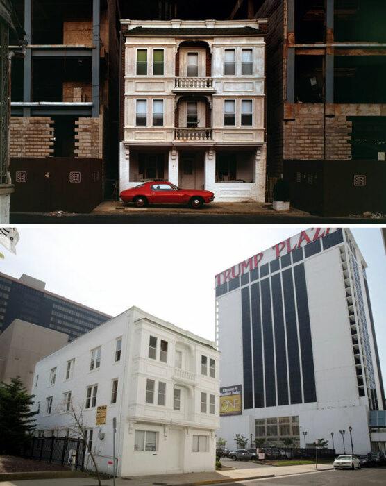 Очаровательный дом Веры Кокинг на зло миллиардерам остался на своем прежнем месте (Атлантик–сити, США). | Фото: cnrmidipyrenees.blogspot.com.