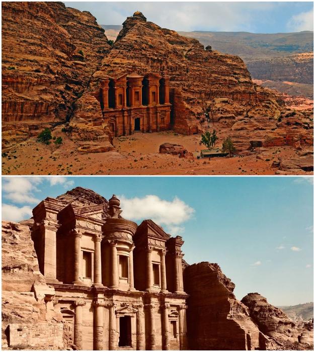 Древний город Петра – национальное достояние Иордании.