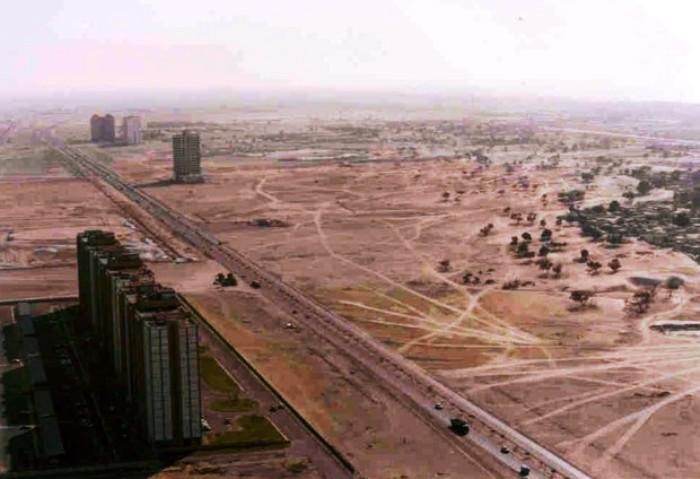 Так выглядел Дубай в 1961 году.