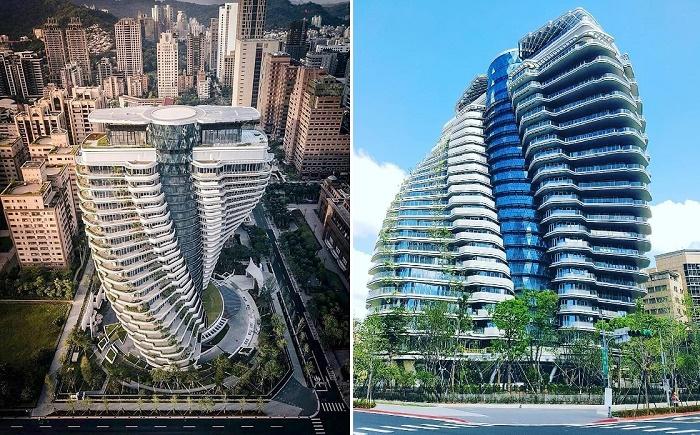 Заканчивается строительство эко-башни Agora Garden Tower, созданной Винсентом Каллебо (Тайбэй, Тайвань).