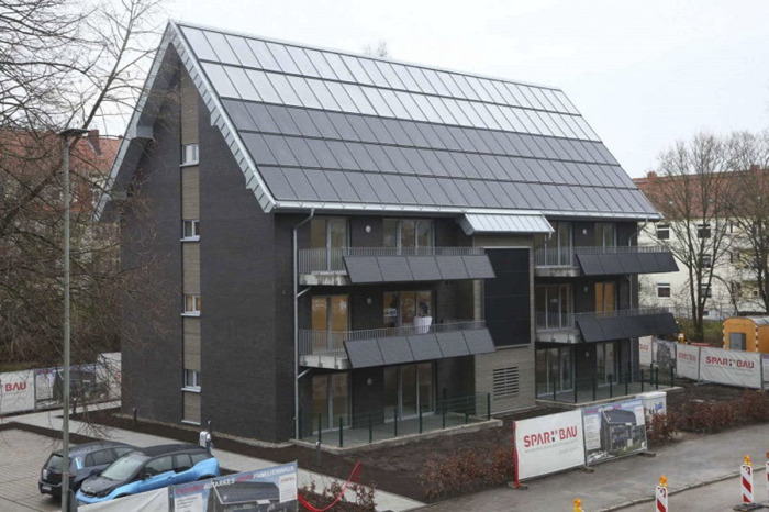 Первый в Германии «активный дом» построен в Вильгельмсхафене. | Фото: finance.tut.by.