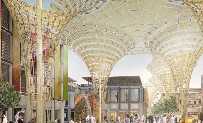 Фантастического вида павильоны будут оформлены для международной выставки Expo 2020 (ОАЭ).