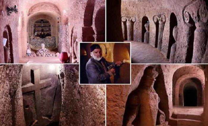 Подземный храм мастера из Армении.