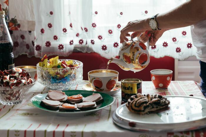 Постояльцев ждет чаепитие в лучших традициях советского народа. | Фото: kirill-potapov.livejournal.com.