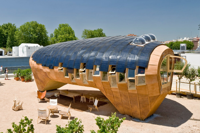 Эко-дом, который можно изготовить за 15 дней (Fab Lab House, Испания). | Фото: smallhouseswoon.com.