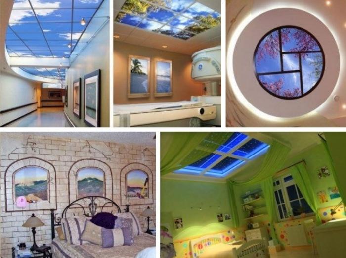 С помощью фальш-окна можно кардинально изменить интерьер квартиры.
