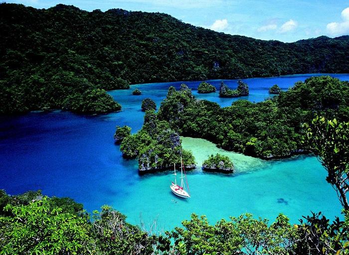Райские острова Фиджи.