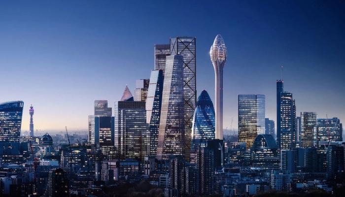«Парящий тюльпан» 305-метровой высоты станет эксцентричным дополнением к лондонскому пейзажу (концепт The Tulip, Великобритания). | Фото mymodernmet.com.