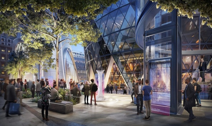 Рядом с небоскребом создадут городской парк и вертикальный сад на специально возведенном здании (концепт The Tulip, Великобритания). | Фото mymodernmet.com.