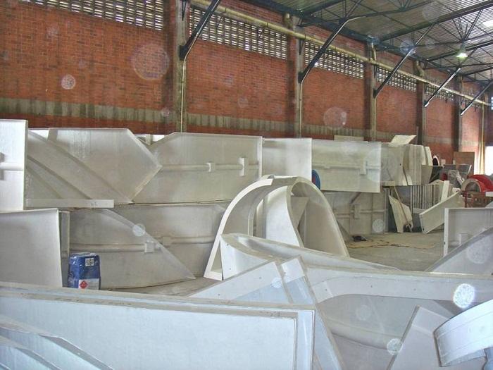 Все элементы этой конструкции создаются на заводе всего за 15 дней.